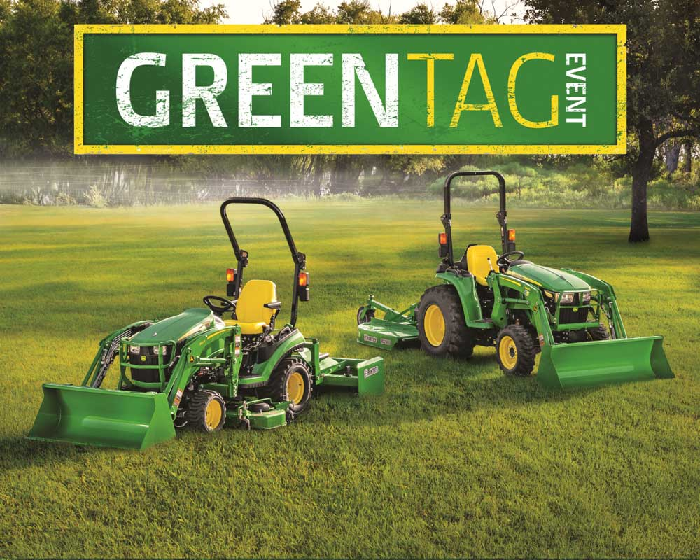Green Tag Sales Event