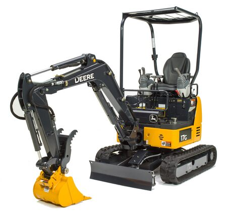 John Deere 17G Compact Excavator 0010FF