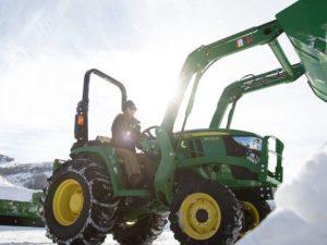John Deere 3032E Compact Utility Tractor 1479LV