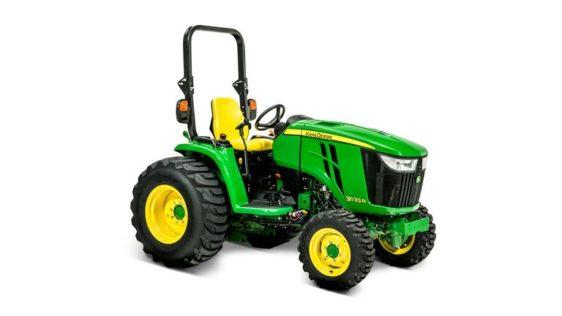 John Deere 3033R Compact Utility Tractor 1369LV