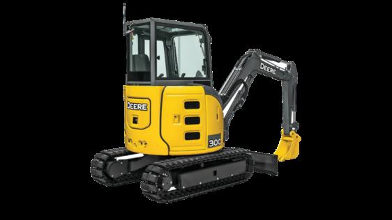 John Deere 30G Compact Excavator 0100FF