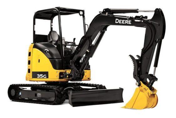 John Deere 35G Compact Excavator 0050FF