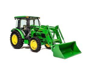 John Deere 5075E Utility Tractor 1754LV