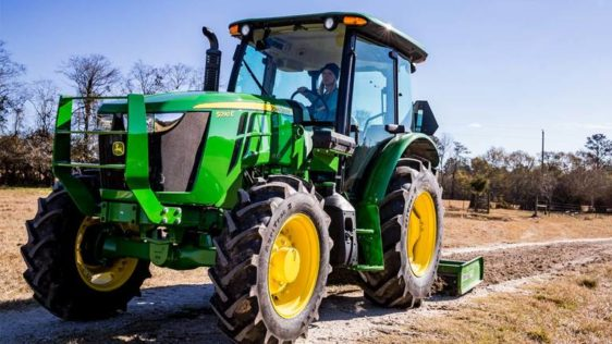 John Deere 5090E Utility Tractor 08A0LV