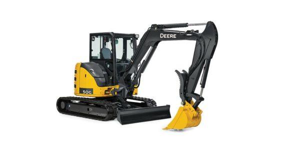 John Deere 50G Compact Excavator 0060FF