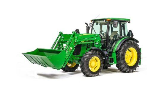 John Deere 5100M Utility Tractor 253CLV