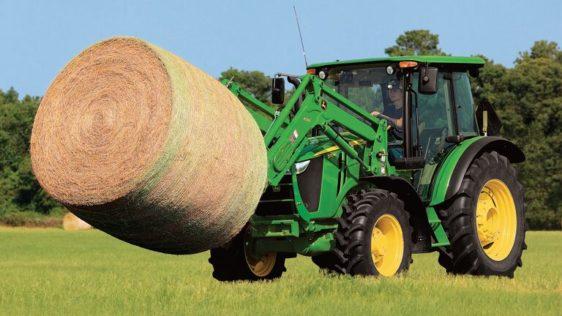 John Deere 5115M Utility Tractor 254CLV