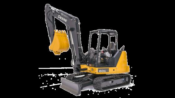 John Deere 60G Compact Excavator 0071FF