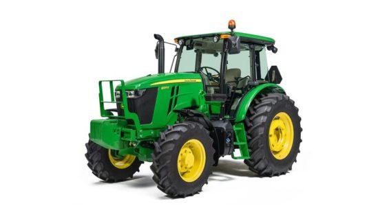 John Deere 6105E Utility Tractor 332RP