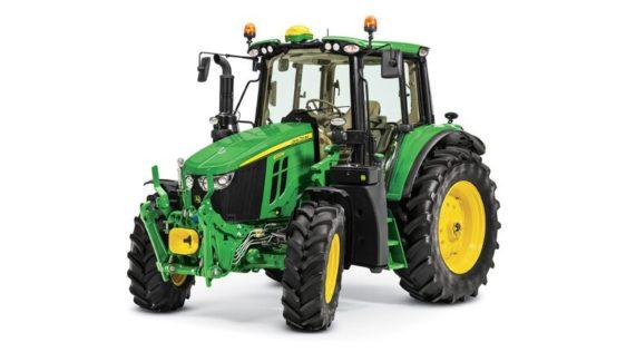 John Deere 6120M Utility Tractor 4297L