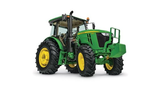 John Deere 6135E Utility Tractor 334RP