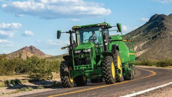John Deere 7R 290 Tractor 8040RW