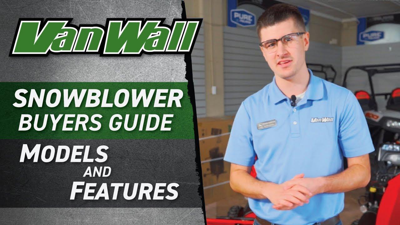 Snowblower Buyer's Guide