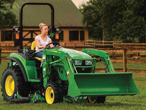 John Deere 2038R Tractor Package