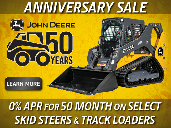John Deere Compact Construction Equipment 50 Years