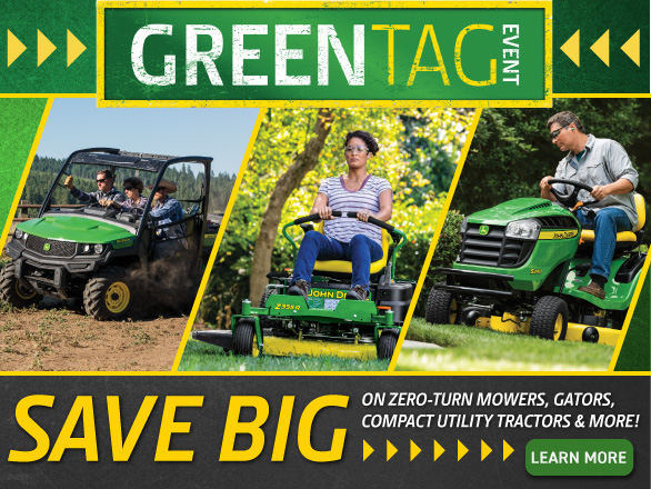 John Deere Green Tag Event