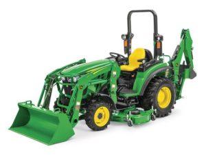 John Deere 2038R Compact Tractor 1554LV