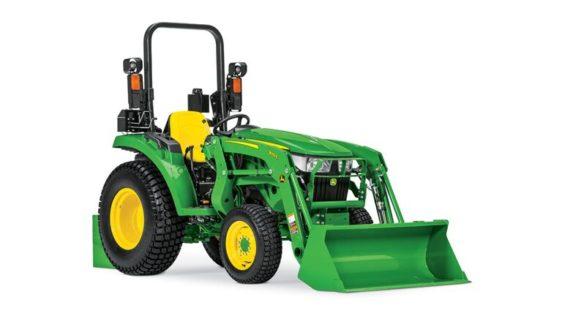 John Deere 3025D Compact Tractor 1680LV