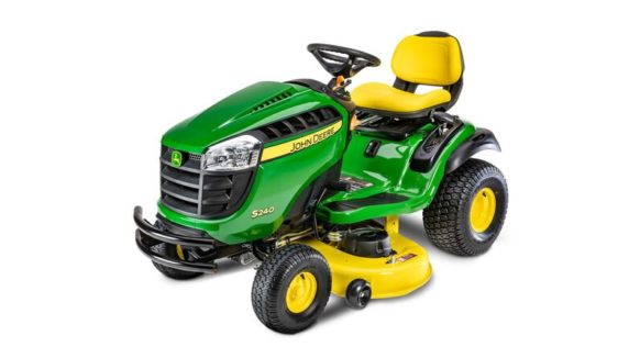 John Deere S240 Lawn Tractor with 48-in. Deck 1085GX