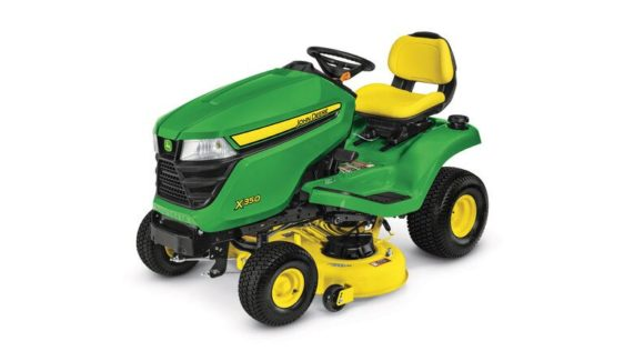 John Deere X350 Lawn Tractor with 48-inch Deck 4889M