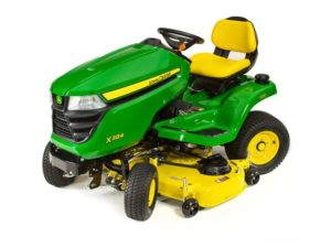 John Deere X384 Lawn Tractor with 48-inch Deck 5220M