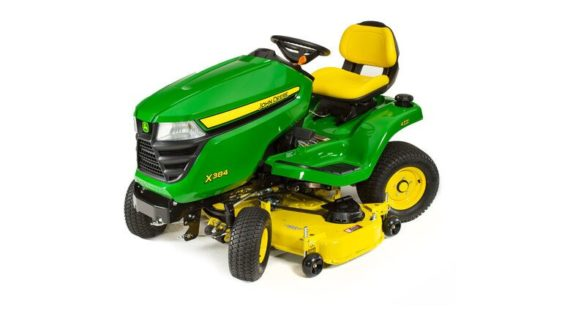 John Deere X384 Lawn Tractor with 48-inch Deck 5221M