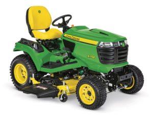 John Deere X758 Signature Series Lawn Tractor 5874M