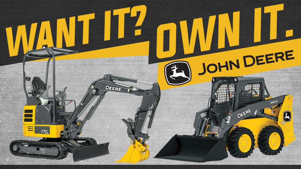 Want it? Own it.