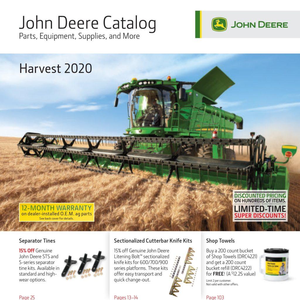 Harvest Catalog