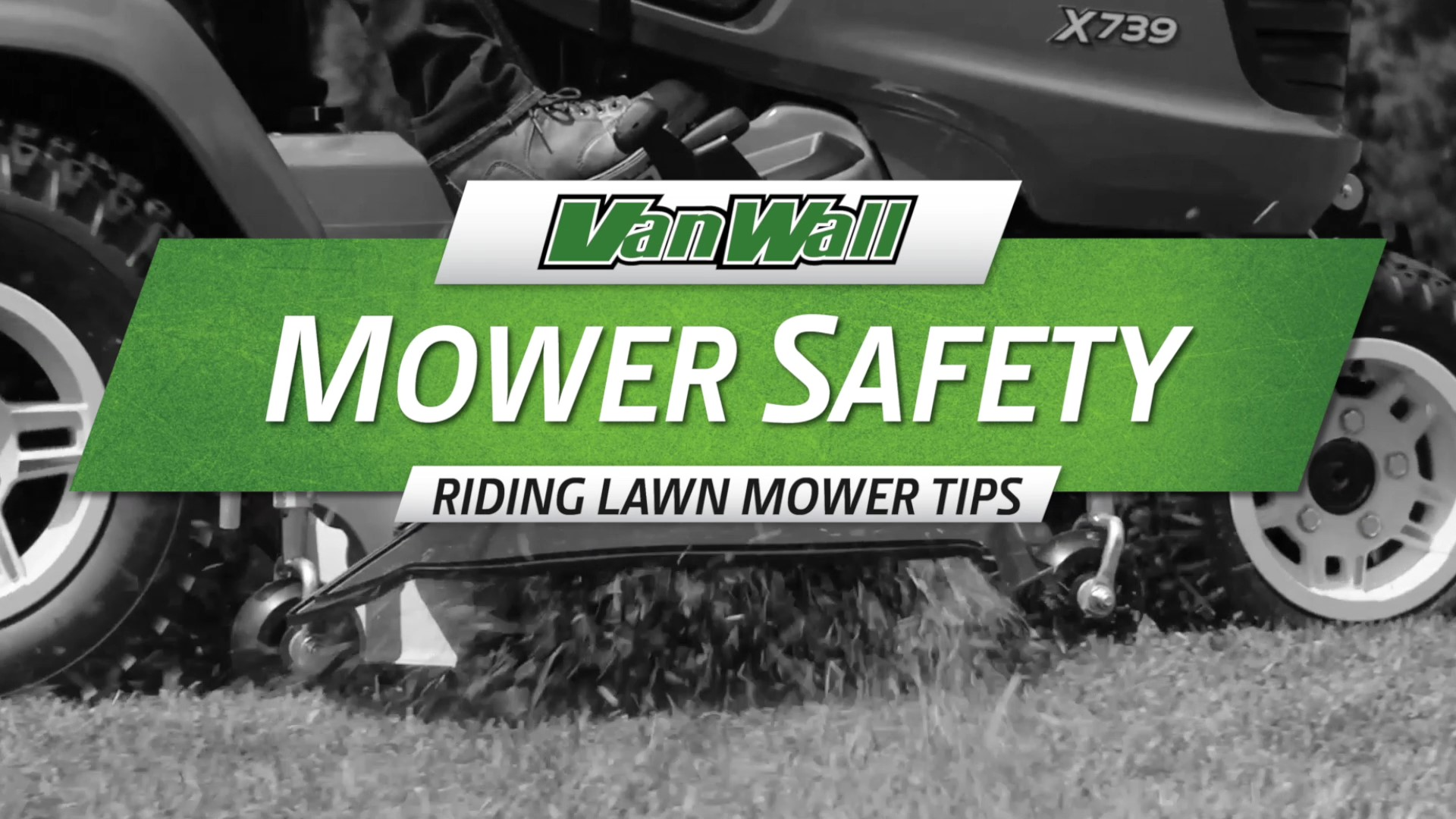 Riding Lawn Mower Safety