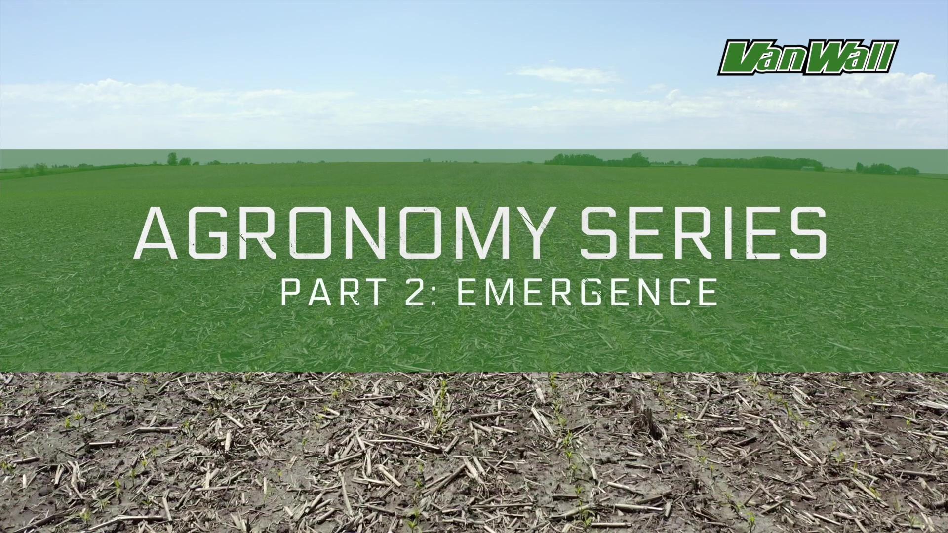 Agronomy Emergence