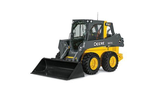 John Deere 320G Skid Steer 00B2T