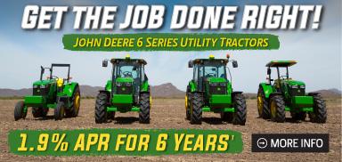 van wall 6 series tractor deal