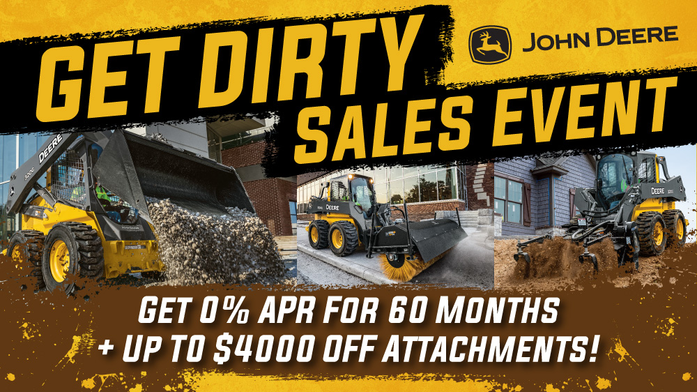 Get Dirty Sales Event