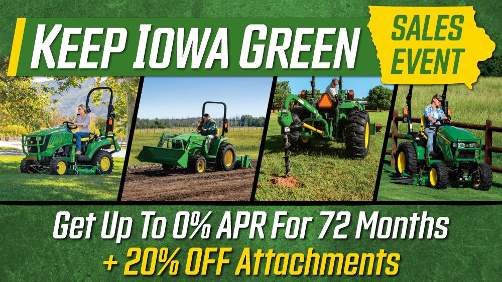 Keep Iowa Green