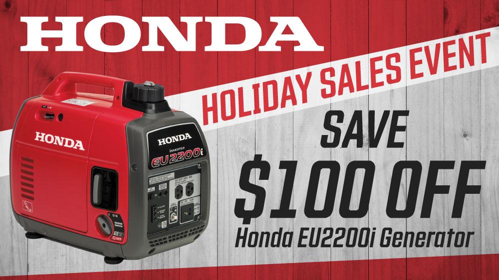 Honda Holiday Sales Event