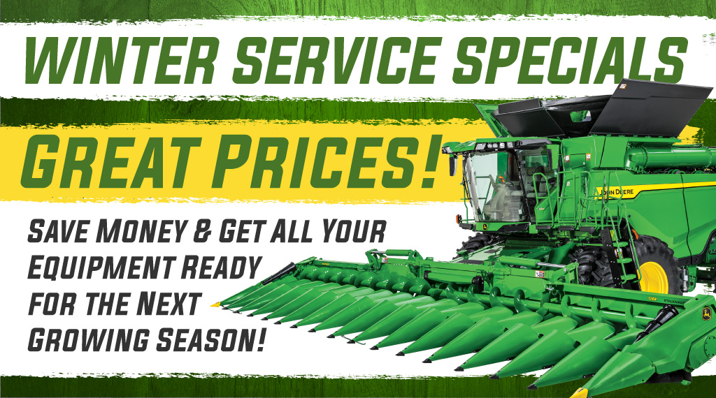 Ag Winter Service Specials
