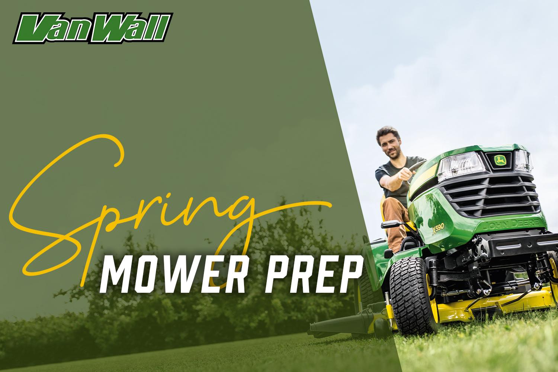 Spring Mower Prep