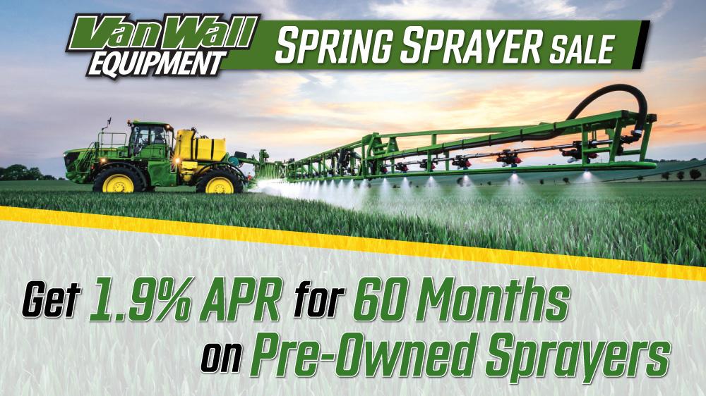 Spring Sprayer Sale