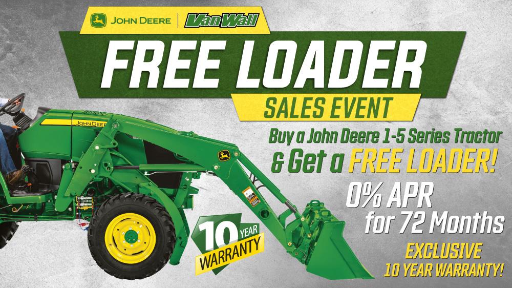 Free Loader Sales Event