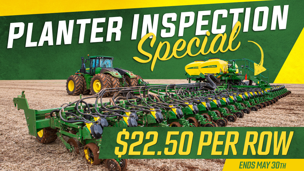Planter Inspection Special