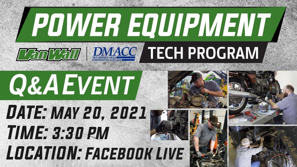 Power Equipment Tech Program: Q & A