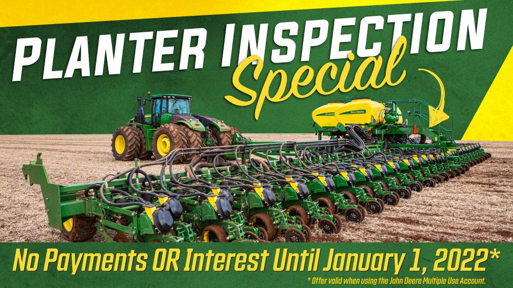 Planter Inspection